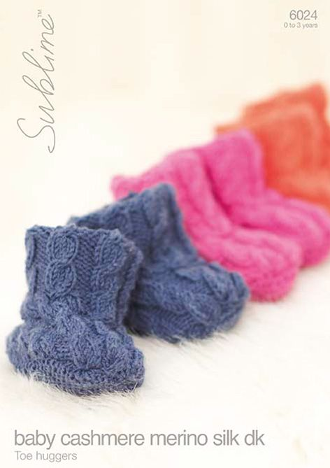 6024 - Sublime Toe Huggers Knitting Pattern