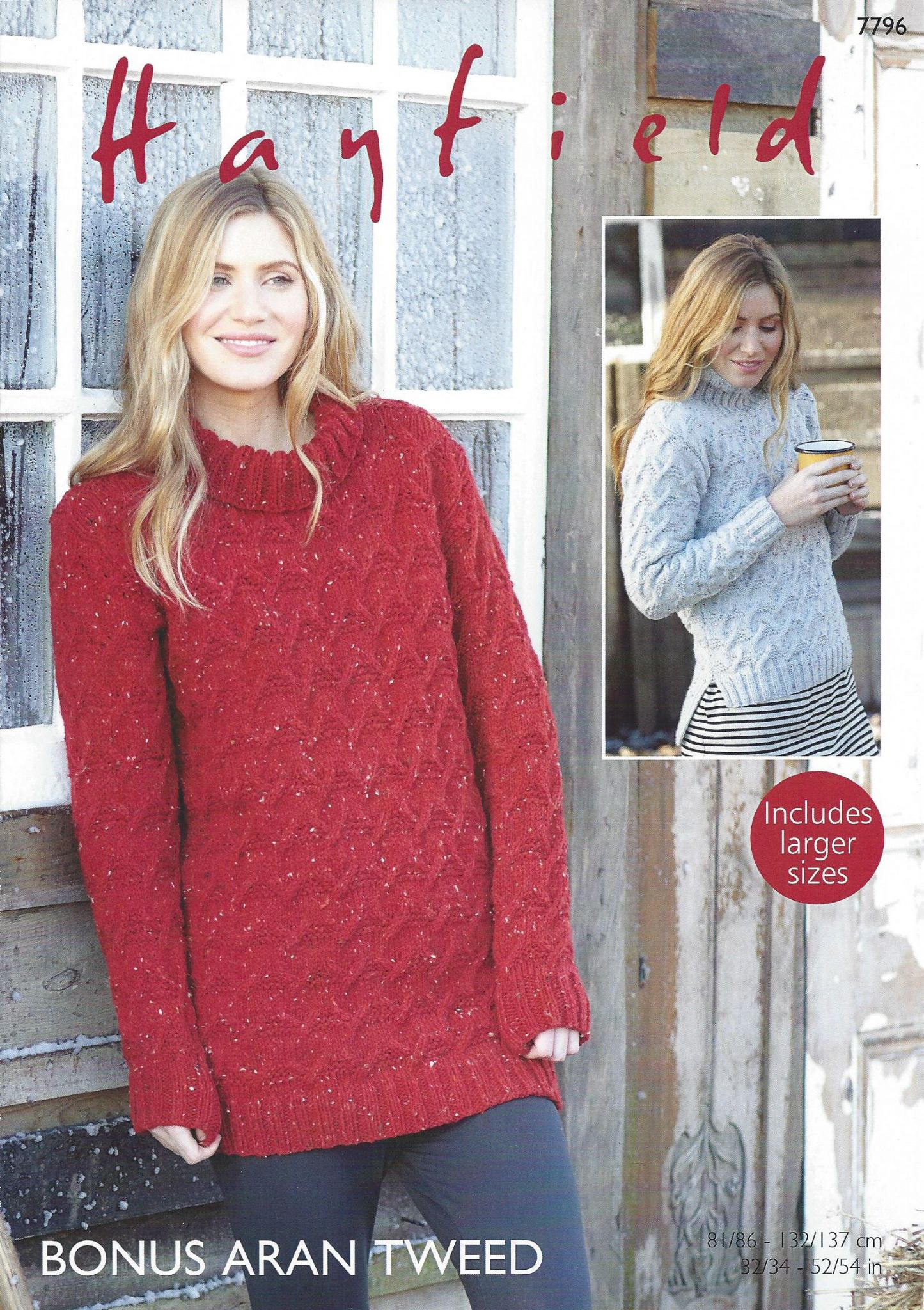 Hayfield bonus aran tweed 7796 sweater dress sweater knitting hayfield bonus aran tweed 7796 sweater dress sweater knitting pattern bankloansurffo Gallery