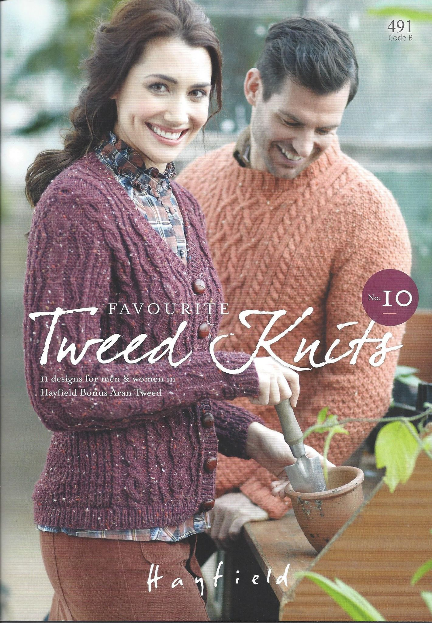 Hayfield Aran Knitting Pattern Books : Hayfield Book 491- Favourite Aran Knits No 10 - Hayfield ...