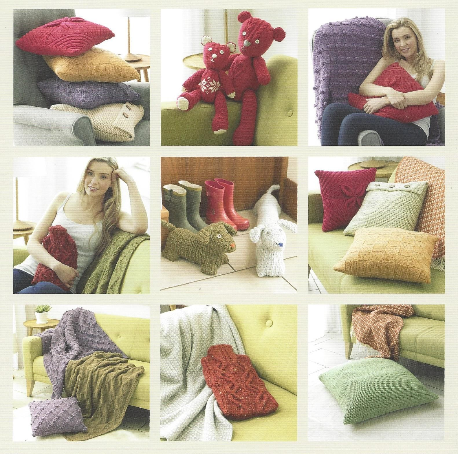Hayfield Book 504 - Aran Homewares - Hayfield Bonus Aran ...