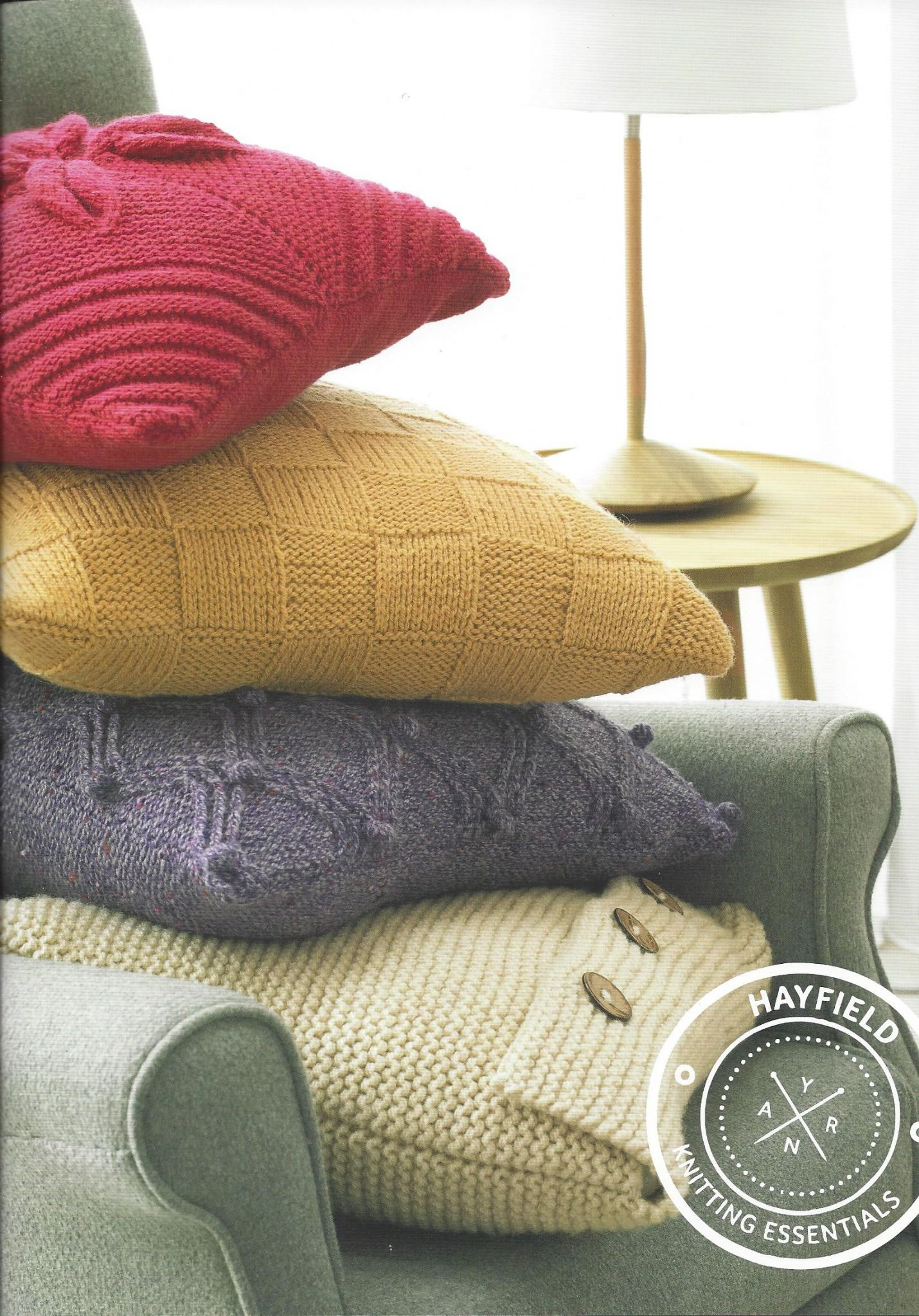 Hayfield Aran Knitting Pattern Books : Hayfield Book 504 - Aran Homewares - Hayfield Bonus Aran ...