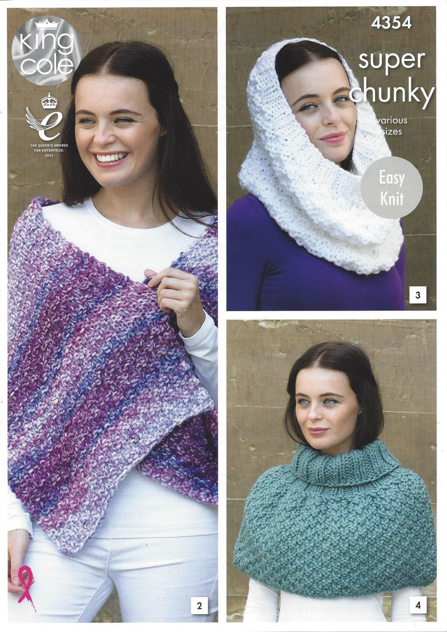 King cole 4354 scarf shoulder wrap snood polo shoulder cover hat king cole 4354 scarf shoulder wrap snood polo shoulder cover hat wrist warmers knitting pattern in super chunky bankloansurffo Image collections