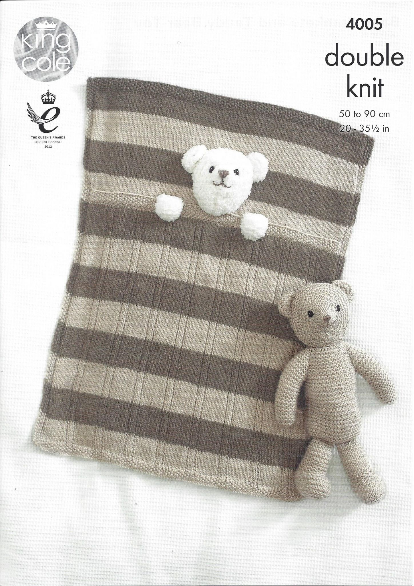King Cole Baby DK Knitting Pattern - 4005 Baby Blankets ...