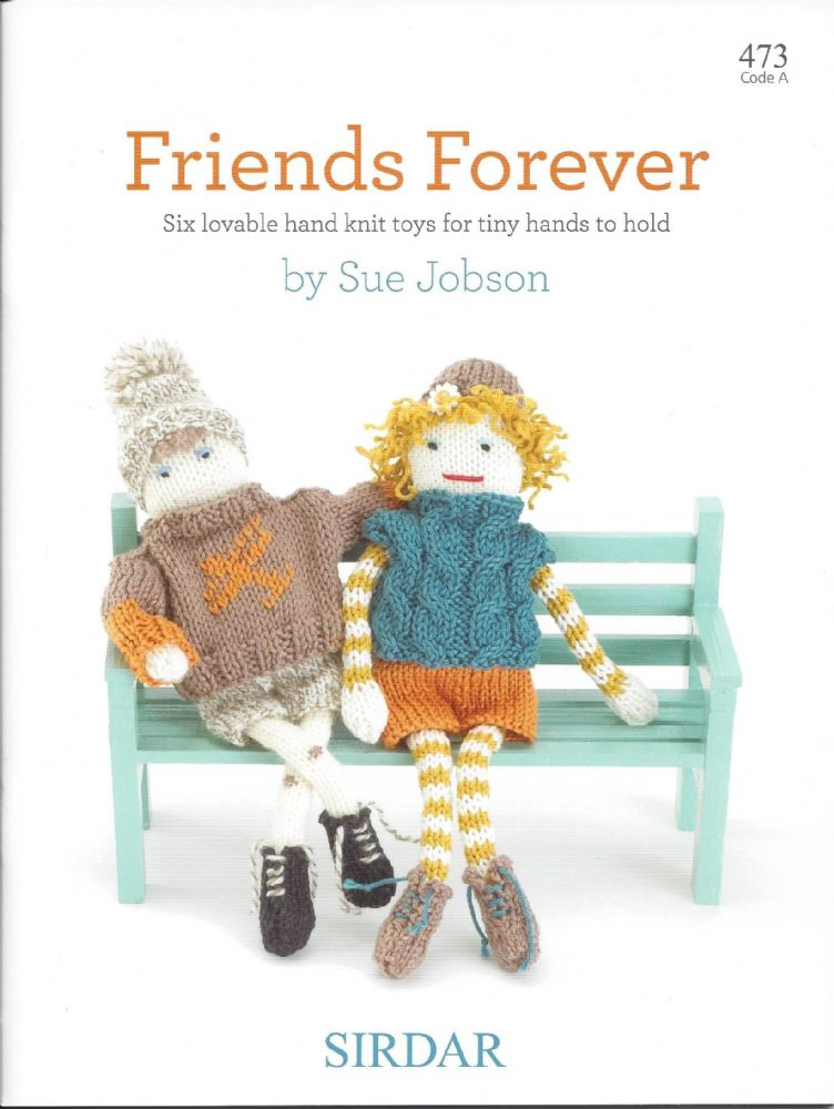 Sirdar Knitting Pattern Books : Sirdar Book 473 - Friends Forever - Sirdar Snowflake Chunky