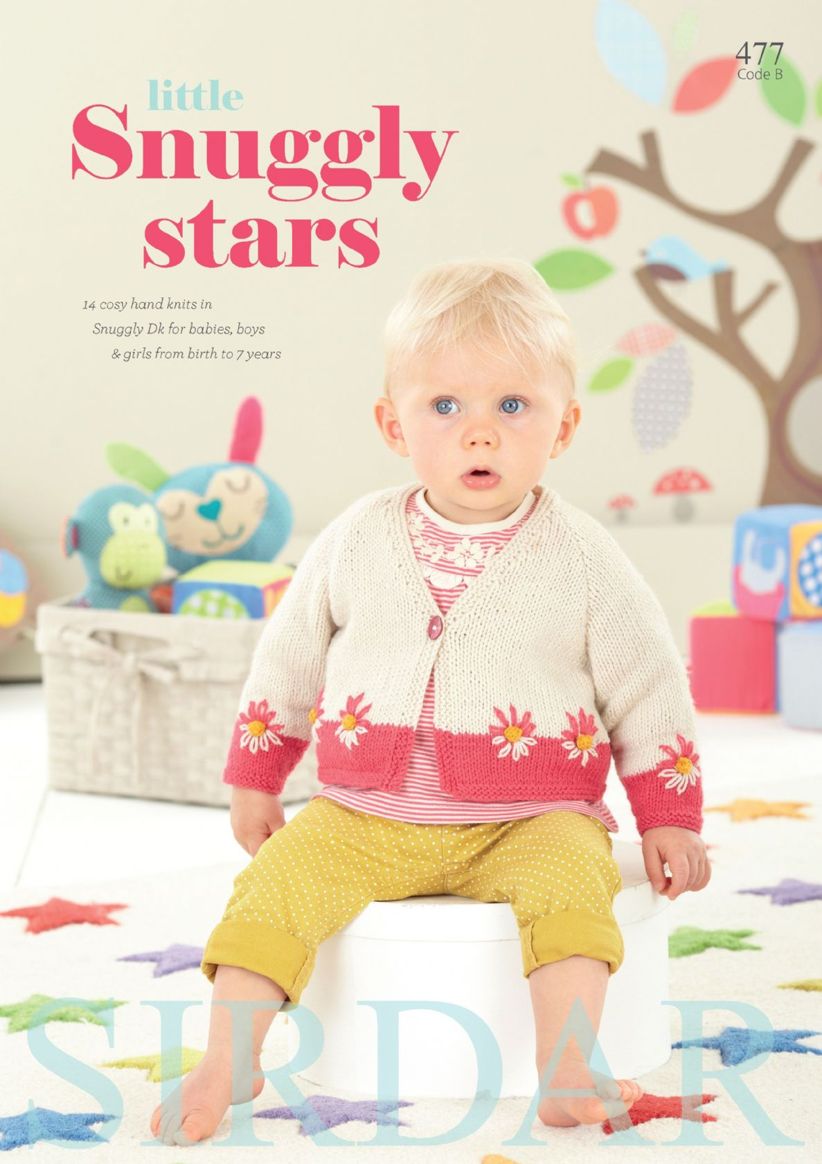 Sirdar Book 477 Little Snuggly Stars Sirdar Snuggly