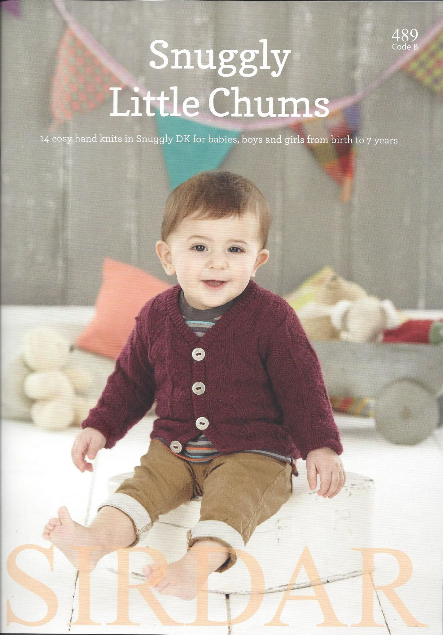 Sirdar Book 489 Snuggly Little Chums Snuggly Baby Dk