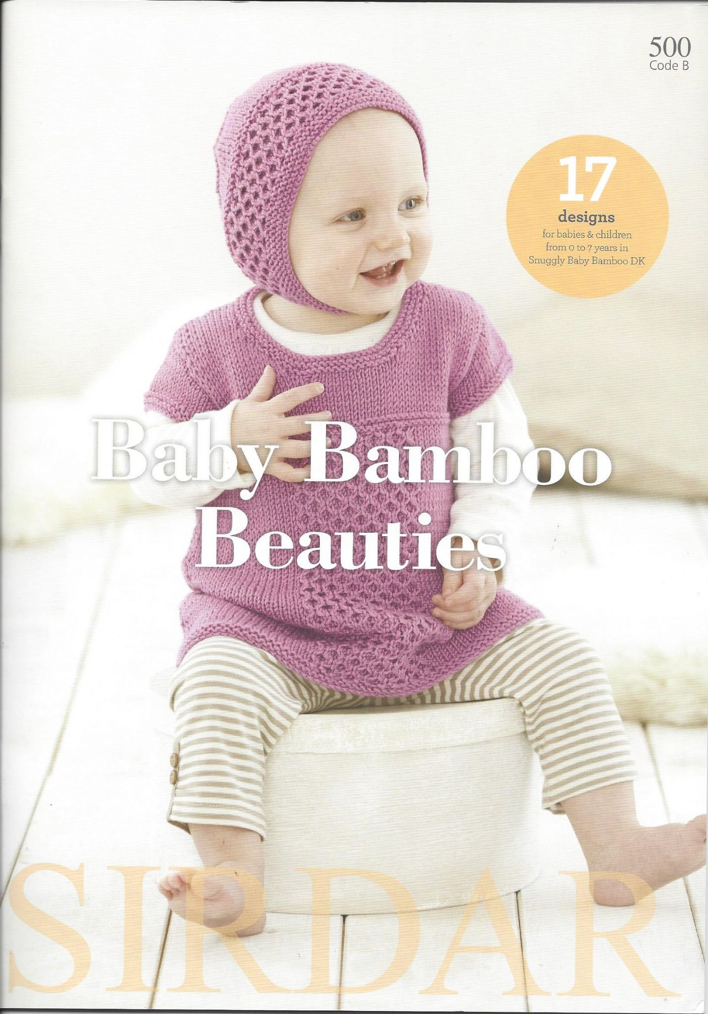Sirdar Book 500 - Baby Bamboo Beauties - Snuggly Baby ...
