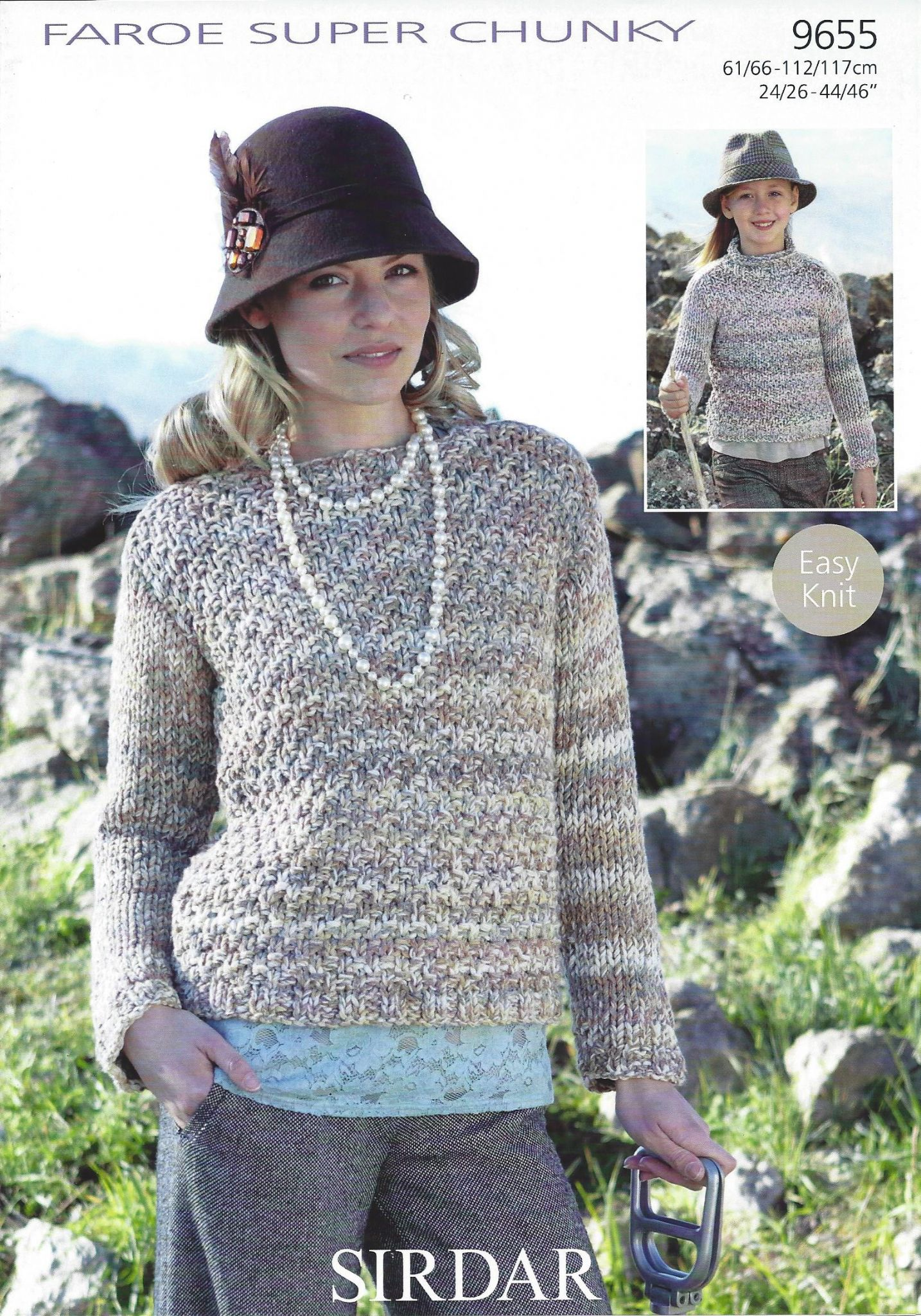 Sirdar faroe super chunky 9655 sweater knitting pattern bankloansurffo Image collections