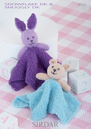 Sirdar Knitting Patterns Toys : Sirdar Snuggly Snowflake DK - 4542 Comforter Toys Knitting ...