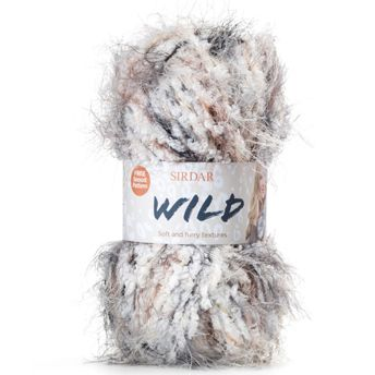 Sirdar Knitting Patterns : Home > Chunky Yarns and Knitting Patterns > Sirdar Wild 50g - OUR ...