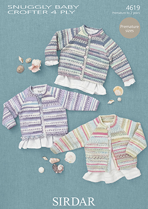 Sirdar Snuggly Baby Crofter 4ply 50g - RRP £4.10 OUR PRICE £3.15