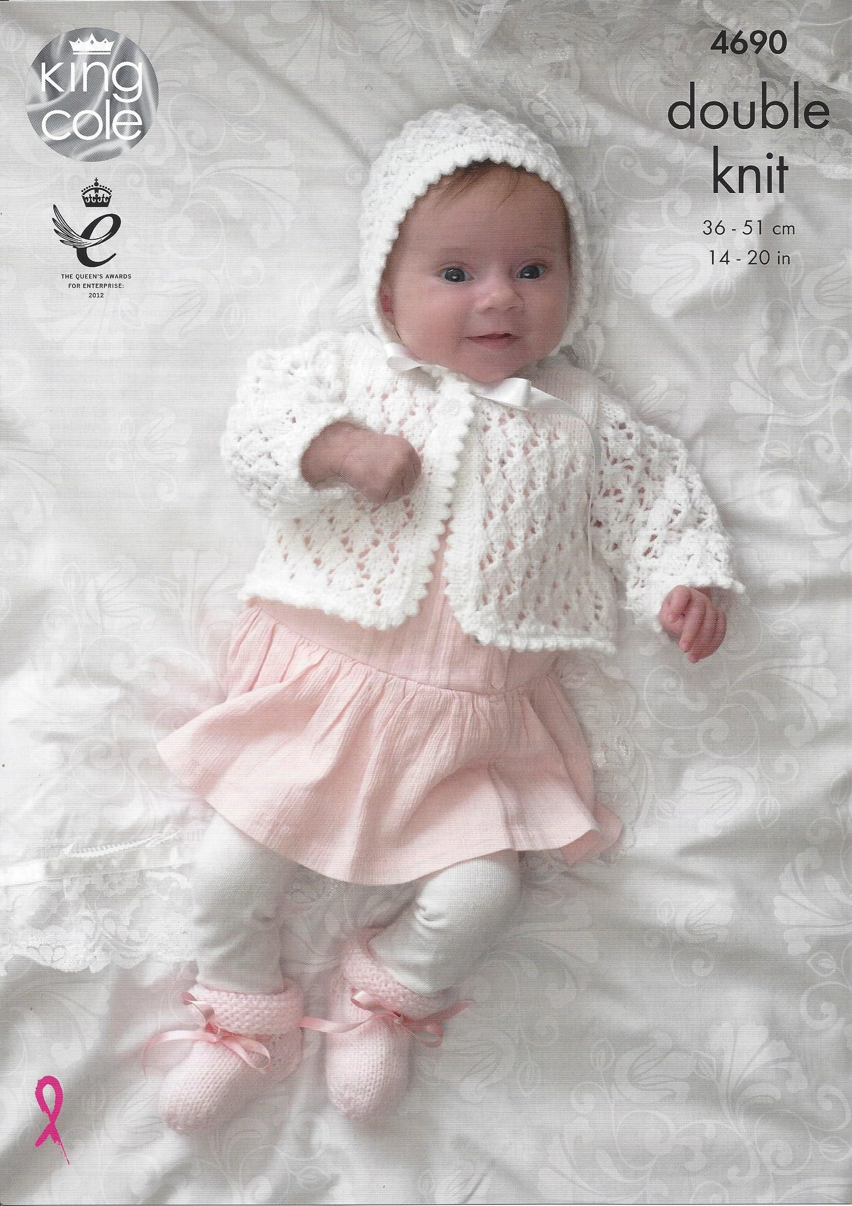 C king cole baby double knit patterns baby knitting books king cole knitting pattern and books include both the more traditional layette items such as very pretty matinee jackets and bonnets to more on trend bankloansurffo Image collections