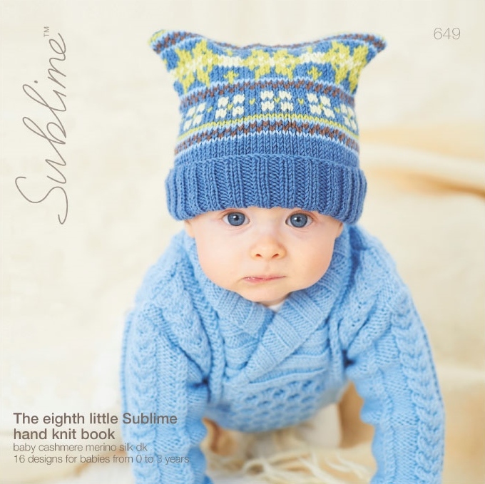 Sublime Knitting Pattern Books Babies : b). Sublime Baby Design Books & Leaflets