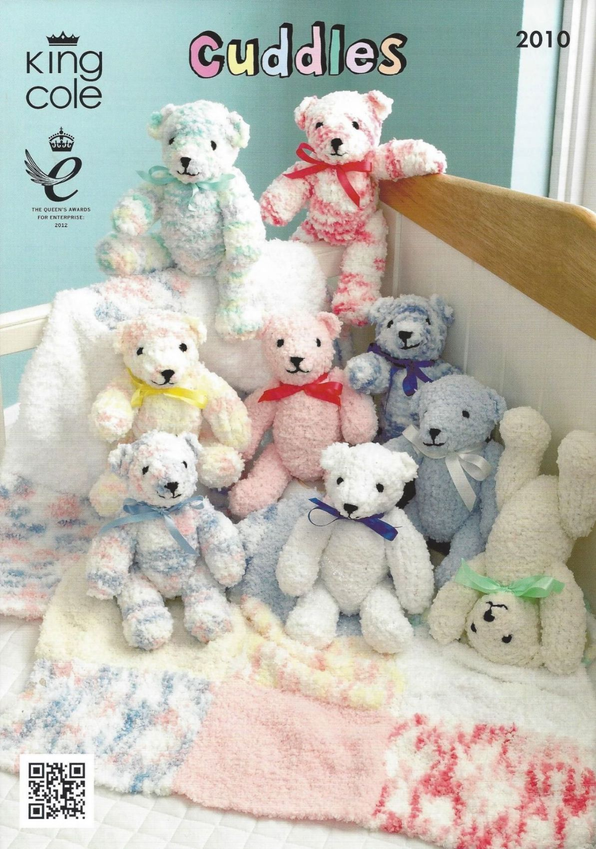 King Cole - 2010 Teddy Bear and Blanket Knitting Pattern