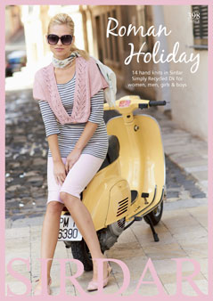 Sirdar Book 398 - Roman Holiday - Sirdar Simply Recycled DK