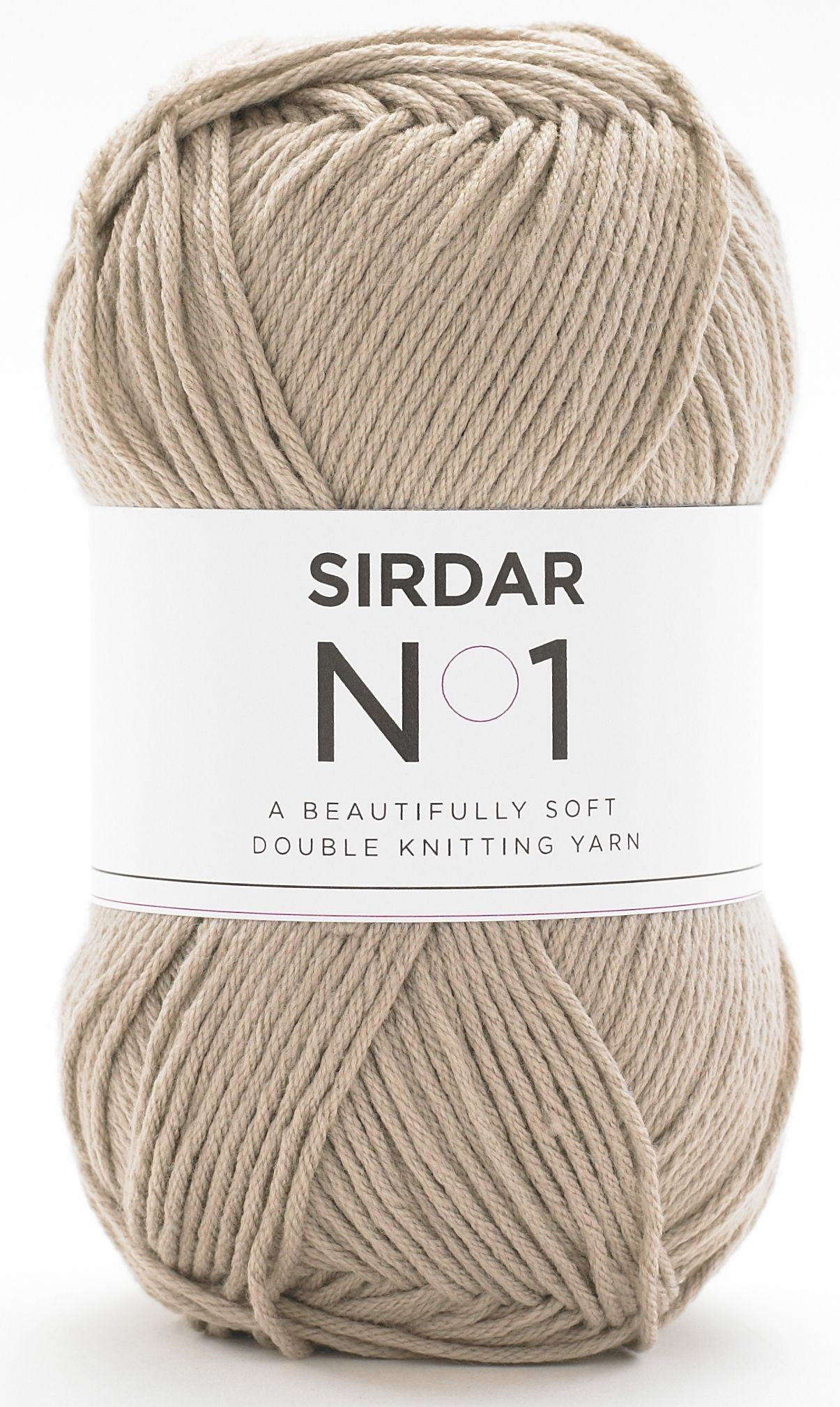 Sirdar No.1 Double Knit Crepe 100g - 207 Brown Sugar
