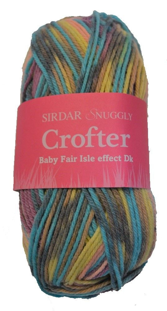 Sirdar Snuggly Baby Crofter DK 50g - 144 Elsie - Discontinued Colour