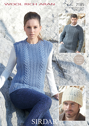 6a4feb35694aa1 sirdar-wool-rich-aran-7185-tabard-and-sweater-knitting-pattern-5517-p.jpg