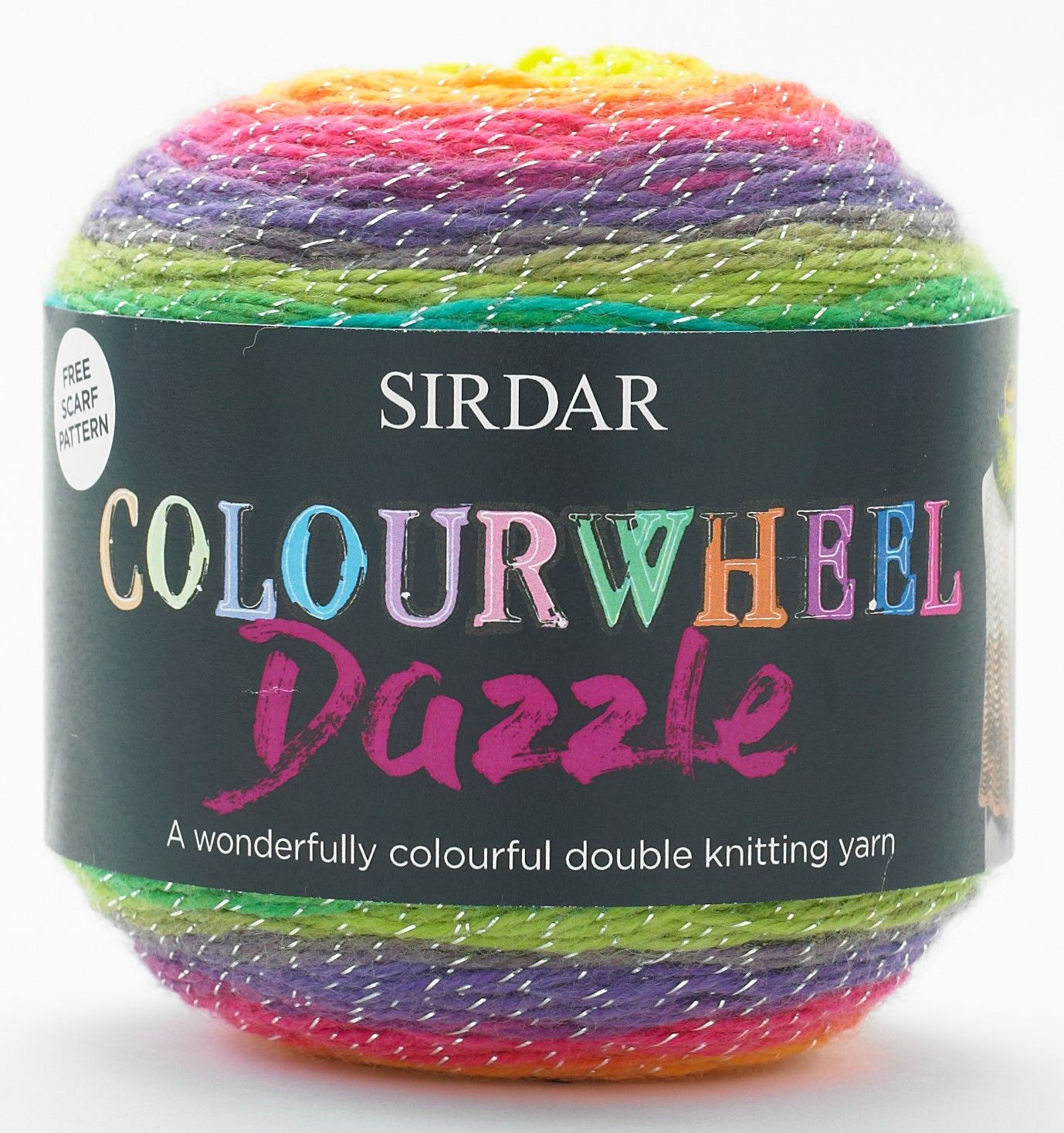 Sirdar Colourwheel Dazzle DK 150g - RRP £12.27 OUR PRICE £9.50